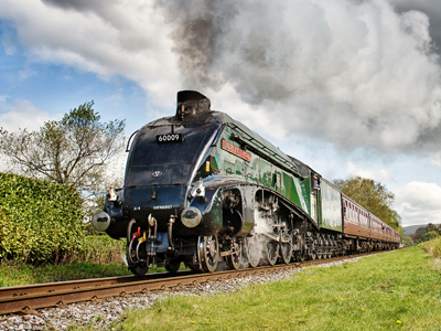 The leaves might be falling but the steam is still rising this Autumn at the East Lancashire Railway.Favourites from the East Lancashire Railway's home fleet will be joining special guest locomotives for an all steam spectacular.Take the opportunity to travel up and down the line on a beautifully restored heritage engine!Prices: Online bookings receive a 10% discount.