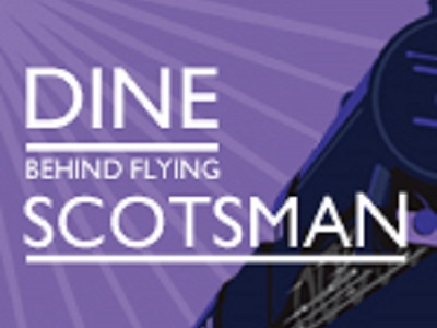 Celebrate Flying Scotsman's return to the East Lancashire Railway and take advantage of an exclusive opportunity to dine behind the prestigious locomotive.Indulge in fine dining and first class service with a Flying Scotsman Dining with Distinction experience. Relive the prestige of luxury train travel from bygone years within the beautiful surrounds of our Pullman style dining carriages, complete with polished marquetry and dimmed table lamps which add to the nostalgic atmosphere. Sit back and relax on your steam powered gastronomic journey through the scenic Irwell Valley and let our dedicated dining team take care of your every whim.