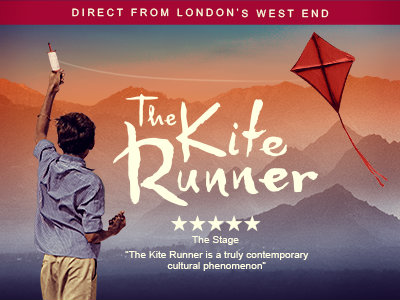From London's west end, The Kite Runner is an outstanding and unforgettable theatrical tour de force and it's coming to Salford.Based on Khaled Hosseini's international bestselling novel, this haunting tale of friendship spans cultures and continents and follows one man's journey to confront his past and find redemption.Afghanistan is a country on the verge of war and best friends are about to be torn apart. It's a beautiful afternoon in Kabul, the skies are full of colour and the streets are full of the excitement of a kite flying tournament, but no one can foresee the terrible incident that will shatter their lives forever.Adapted by Matthew SpanglerBased on the novel by Khaled HosseiniDirected by Giles CroftOriginally produced by Nottingham Playhouse Theatre Company and Liverpool Everyman and Playhouse