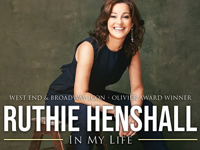 Ruthie Henshall is back in the UK with a new intimate show In My Life which plays an exclusive three-city tour in April 2020.  In My Life premiered at the Sydney Opera House in June 2019 and went on to tour Australia playing to packed houses and a slew of five-star, rave reviews.This new intimate show is a rare opportunity to see this dazzling star up close and personal, reinterpreting highlights from her acclaimed career as well as exploring the work of other iconic artists from Stephen Sondheim and Carole King to Victoria Wood and The Beatles. Ruthie is accompanied by her musical director, Paul Schofield, on piano.Ruthie Henshall is one of the most celebrated stars in the history of the West End. Her multi-award winning career has seen her star in the most popular musicals of the past thirty years in the West End and on Broadway from her iconic appearance as Fantine in Les Misérables (including the tenth anniversary concert) to her Olivier Award nominated performances in Crazy For You, She Loves Me (winner), Peggy Sue Got Married, Marguerite and Chicago.  Ruthie's other credits include Cats, Miss Saigon, Oliver!, A Chorus Line, Putting It Together, Billy Elliot (including the world-wide cinema release) and her legendary appearance as both Roxie and Velma in Chicago in the West End and on Broadway. She recently starred as Mama Morton in Chicago, making her the only British actress to play all three female leads in the show. Ruthie has enjoyed tremendous success in plays, in concert and on television, including her stint as a judge on Dancing on Ice. Her recordings include four solo albums and numerous cast recordings.***Please be aware that the Quays Theatre is at the far side of The Lowry's building. After entering the main doors to the foyer, you should allow time to walk to the Quays Theatre before the show begins, especially if you have mobility difficulties. There are no stairs to negotiate, but there is a long sloping ramp, and wheelchairs are available to borrow if needed.You can familiarise yourself with the building in advance using our virtual tour  https://thelowry.com/visit-us/access/
